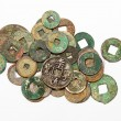 Chinese ancient coins — Stock Photo