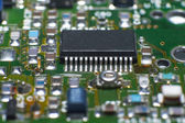 Cpu circuit board — Stock Photo