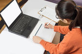 Are using graphic tablet — Stock Photo