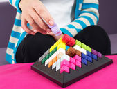 Building blocks game — Stock Photo