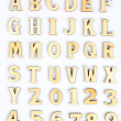 Stock Photo: Wooden letters