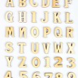 Wooden letters — Stock Photo