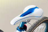 Bicycles seat — Stock Photo