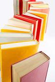 Coda di libro in piedi — Foto Stock