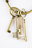Antique keys — Stock Photo