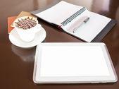 Closeup Tablet PC — Stok fotoğraf