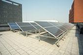 Small photovoltaic power plants — Stock Photo