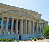 National Archives of the United States in Washington DC — Stock Photo