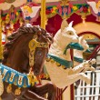 Stock Photo: Indoor Carousel at Seaside Mall in Oregon
