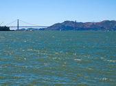 Golden Gate Bridge as Seen from Pier 39 — Stock Photo