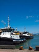 Tug Boats in San Francisco — Stock Photo