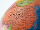 Global Studies A Colorful Closeup of China — Stock Photo