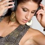 Listening to Music — Stock Photo #12042487