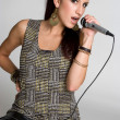 Singing Girl — Stock Photo #12042528