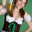 Stock Photo: Saint Patricks Day Girl