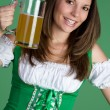 Stock Photo: Beer Girl