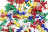Clavijas de empuje — Foto de Stock