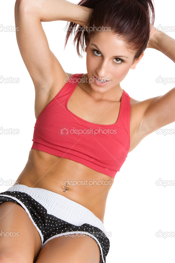 Woman Doing Sit Ups  — Stock Photo #12042495