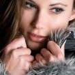 Winter Woman - Foto Stock