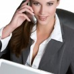 Businesswoman On Phone — Stock Photo