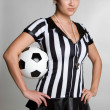 Soccer Referee — Stock Photo #12727131
