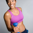 Black Woman Exercising - Foto de Stock