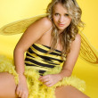 Royalty-Free Stock Photo: Sexy Bumblebee