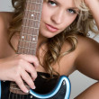 Rock Star Girl — Stock Photo