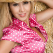 Stock Photo: Beautiful Cowgirl