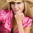 Stock Photo: Latin Cowgirl