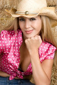 Latin Cowgirl — Stock Photo