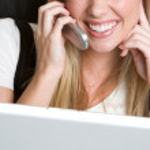 Businesswoman on the telephone — Stock Photo #21821419