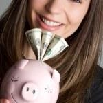 Money Woman — Stock Photo #3125618
