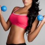 Woman Exercising — Stock Photo #3789188
