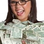 Money Woman — Stock Photo #3794898