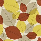 Autumn Fall Leaves — Vector de stock