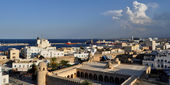 Top view of Sousse.Tunisia. — Stock Photo