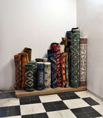 Carpet shop. Tunis. — Stock Photo