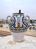Traditional ceramics. Tunis. — Stock Photo