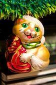 Christmas-tree decorations — Stock Photo