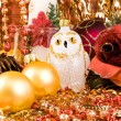 Christmas-tree decorations — Stock Photo #15728303