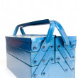 Blue tool box — Stock Photo #2762618