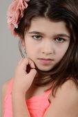 Romanian child portrait — Stock Photo
