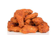 Pile of chicken wings — Stockfoto