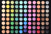 Top view eyeshadow palette — Stock Photo