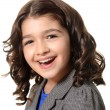 Cheerful little girl — Stock Photo