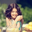 Old fashioned lemonade stand — Foto de Stock