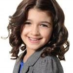 Happy little girl portrait — Stock Photo #27905761