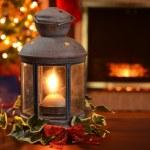 Christmas lantern — Zdjęcie stockowe #33708201