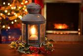 Vánoční lucerna — Stock fotografie